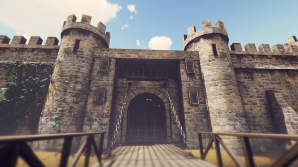 Book Trailer Fantasy Castle